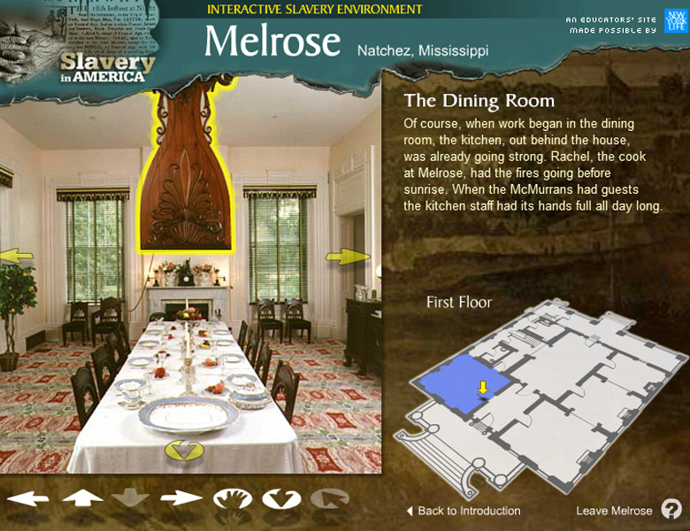 Public Broadcasting System: Melrose Plantation Interactive Tour